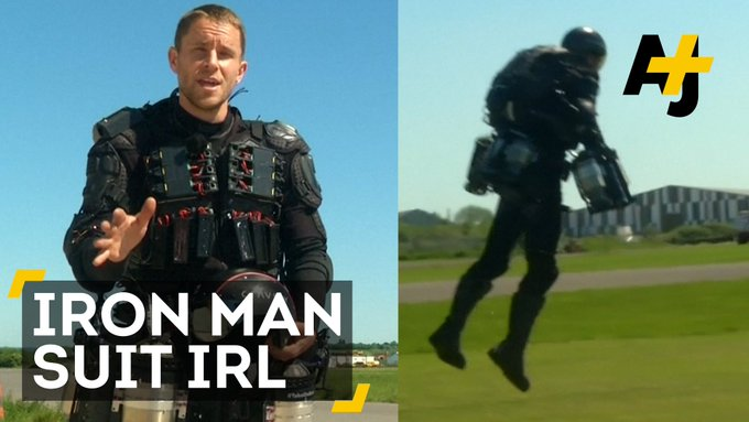 This guy is basically a real-life Iron Man.