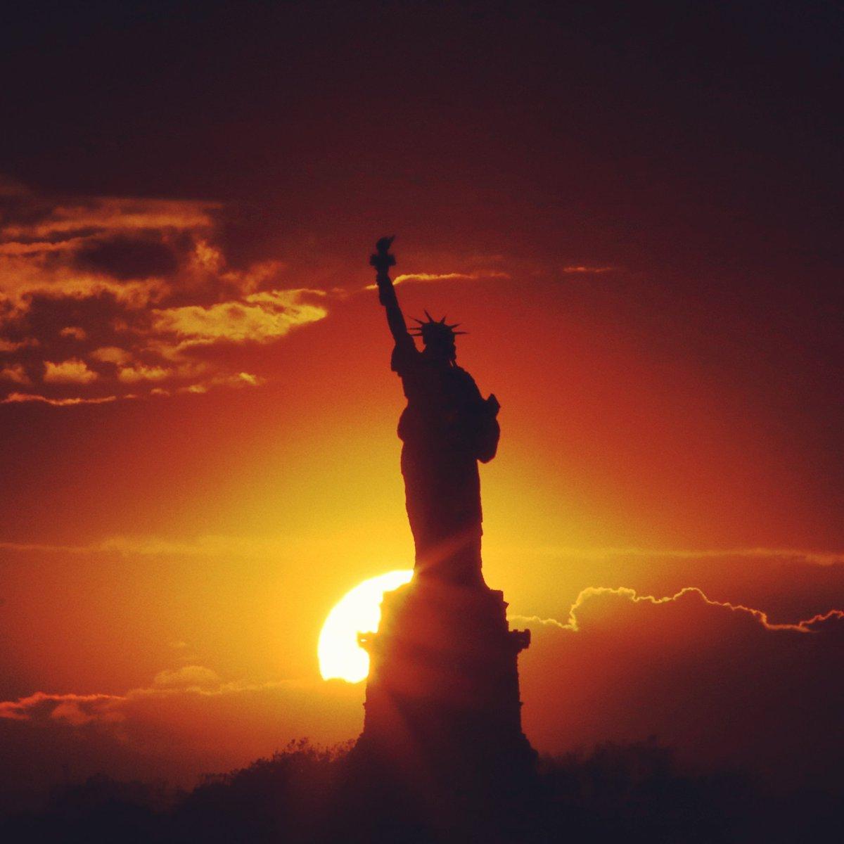 Statue Of Liberty by @GaryHershorn #newyork #nyc<br>http://pic.twitter.com/g32C5kZpc5