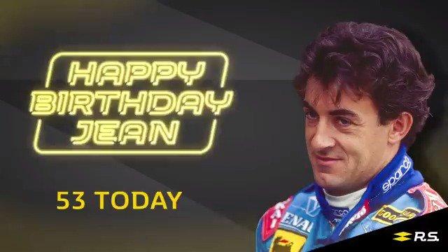 Happy birthday Jean Alesi!