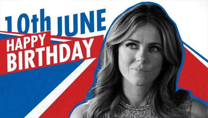 Happy Birthday to our perfect Queen Elizabeth Hurley, the ultimate supporter.