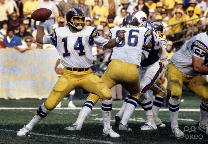 Happy Birthday to Dan Fouts(14), who turns 66 today!