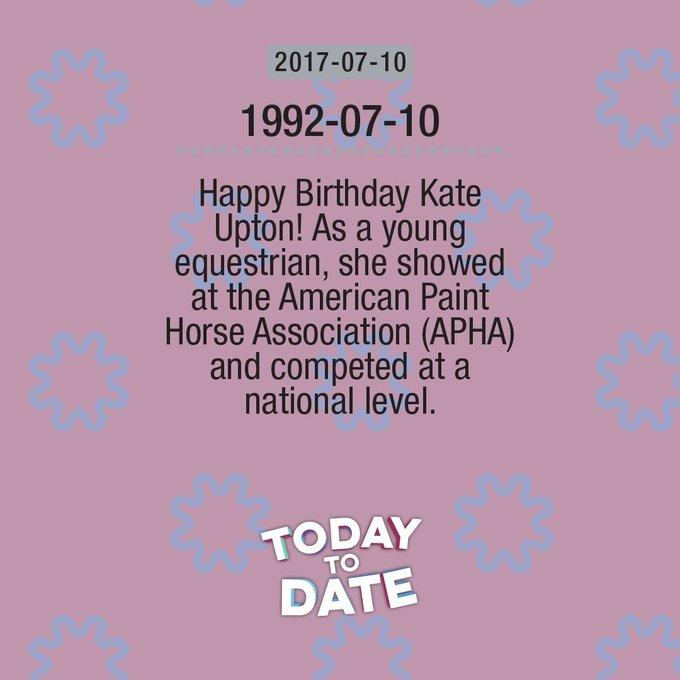 2017-06-10: Happy Birthday Kate Upton birthday