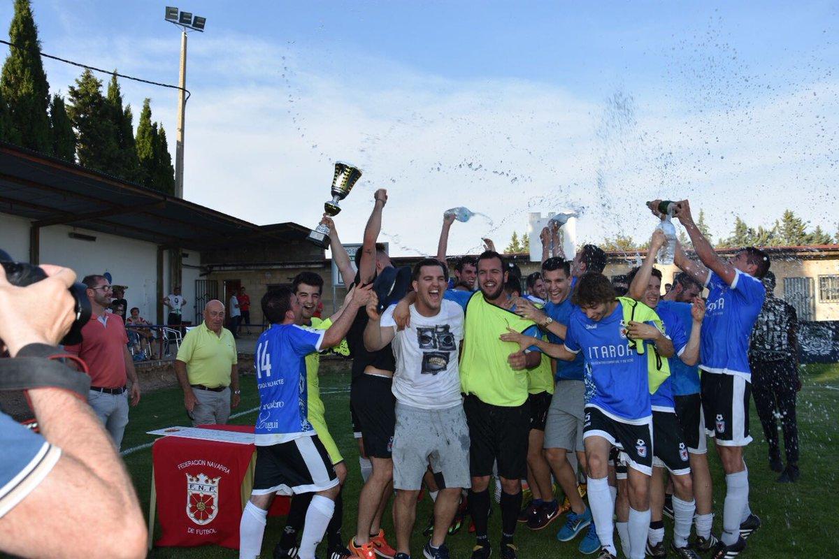 DESDE LA BANDA - FÚTBOL NAVARRO (DLB-FN): Club Deportivo Huarte campeón de la Copa de la Liga de Navarra.