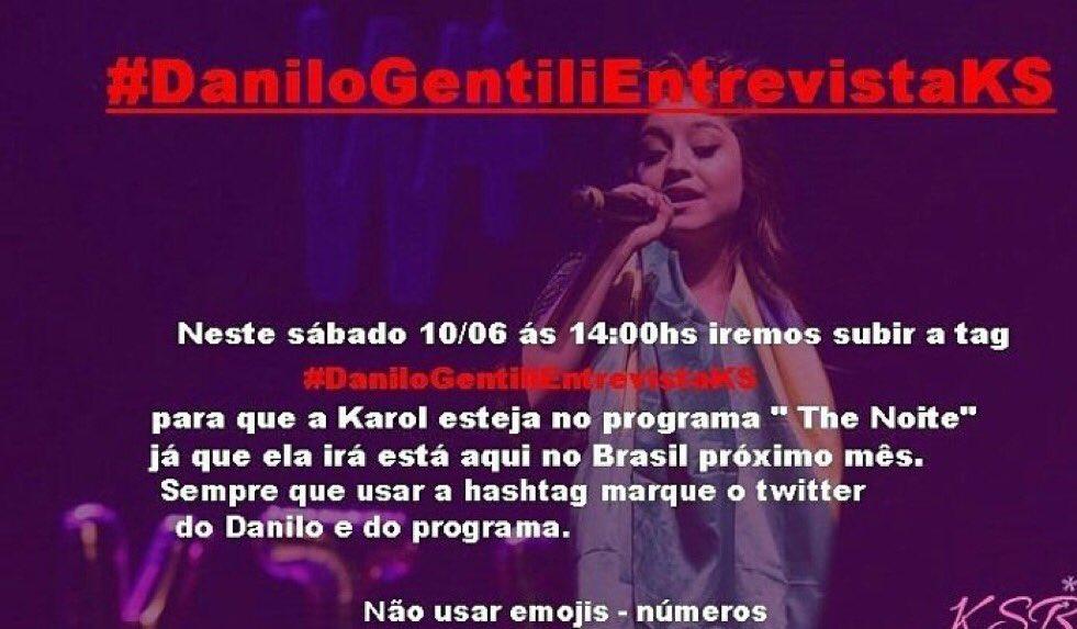 Preciso dessa entrevista @DaniloGentili @SBTTheNoite #DaniloGentiliEntrevistaKS