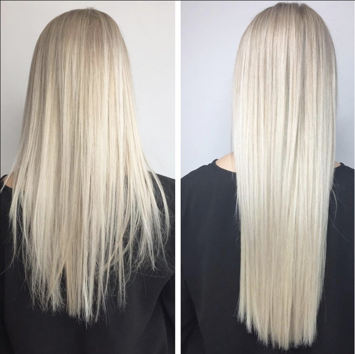 Great Lengths Canada On Twitter Ice Blonde Transformation Using