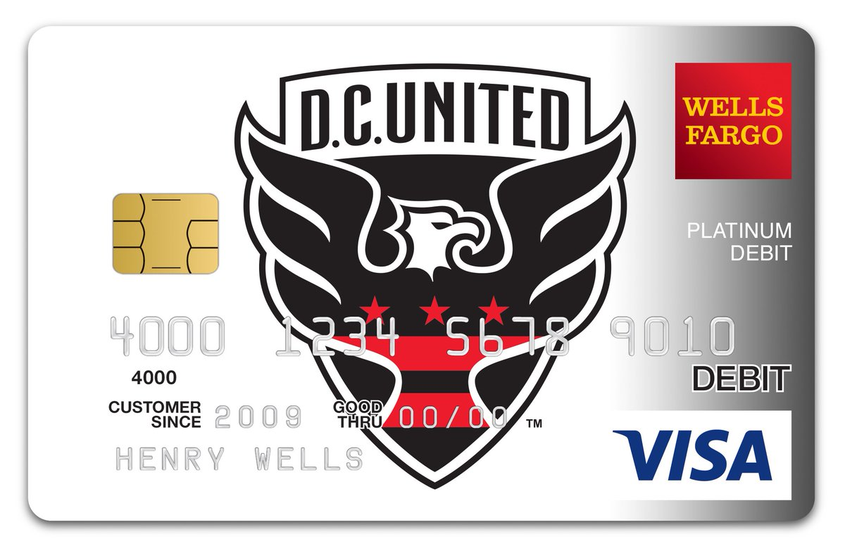 Dc United On Twitter Pick Up A Dcu Wellsfargo Affinity Card
