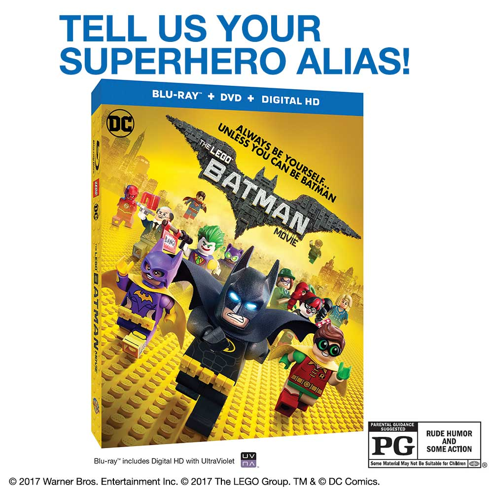 Hey Twitter friends! RT for a chance to win a @LEGOBatmanMovie. Own the Blu-rayTM  and Digital Movie Now. U.S. only. https://t.co/MvO3xpwU2K