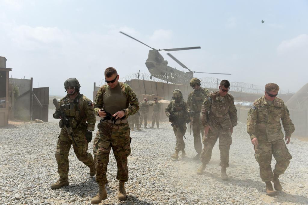 американские военные в кабуле фото этому
