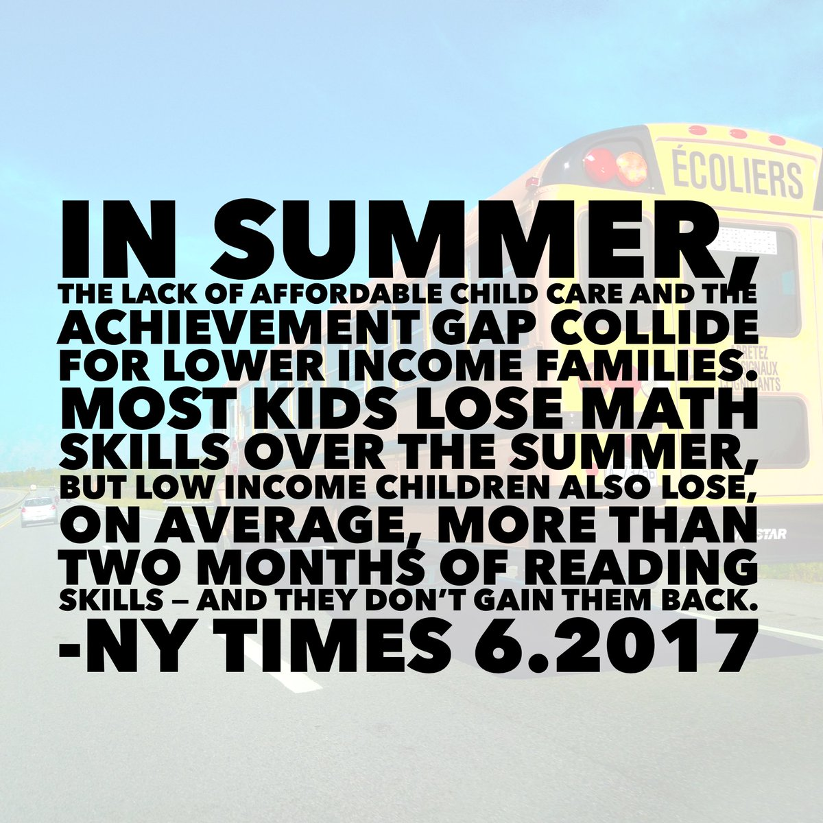 The Families That Cant Afford Summer >> Dr Rosa Perez Isiah On Twitter Opinion The Families That Can T
