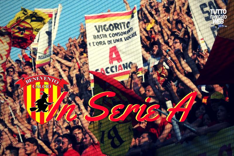 Il #Benevento è promosso in #SerieA   #TMW https://t.co/GPeh3yCD65