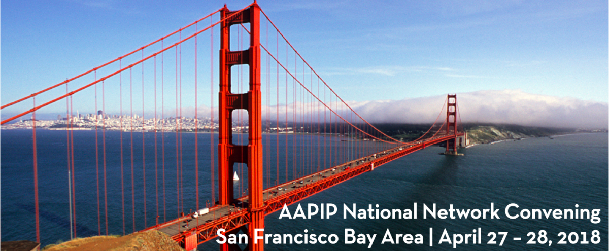 For folks who attended #aapip2017, pls save the date for #aapip2018 Convening happening in San Francisco April 27-28, 2018. See you then!<br>http://pic.twitter.com/65CNinOLH6