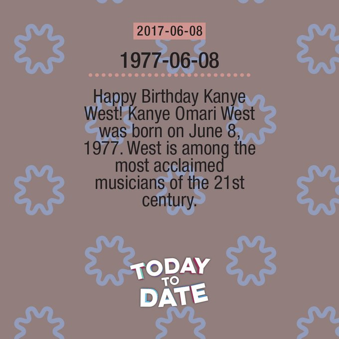 2017-06-08: Happy Birthday Kanye West