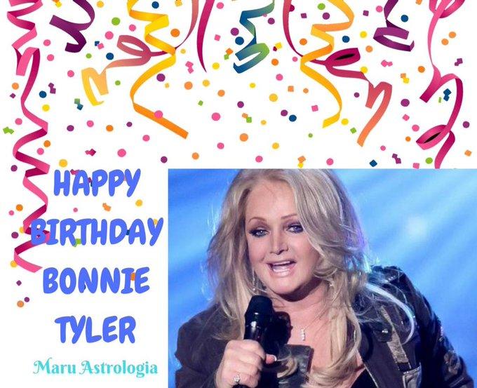 HAPPY BIRTHDAY BONNIE TYLER!!!