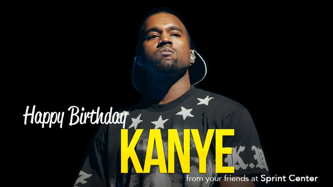 Happy Birthday Kanye West!