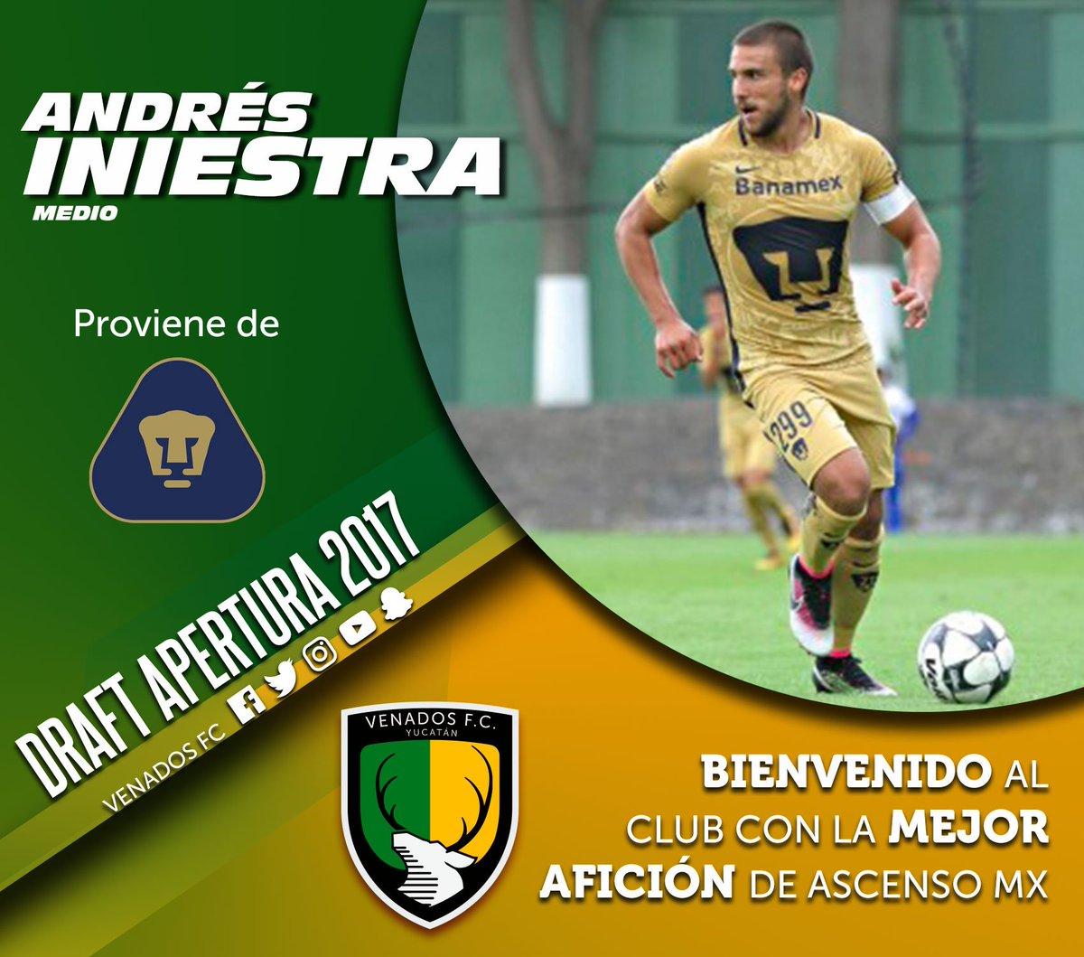 Andrés Iniestra, canterano auriazul y ex-seleccionado nacional sub-21, se enfunda nuestra playera. ¡Bienvenido a tu nueva casa, lobo!