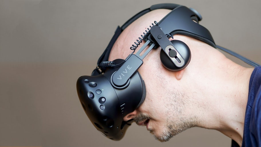 52665d0377d htc vive deluxe audio strap review better comfort and sound but even more  cost
