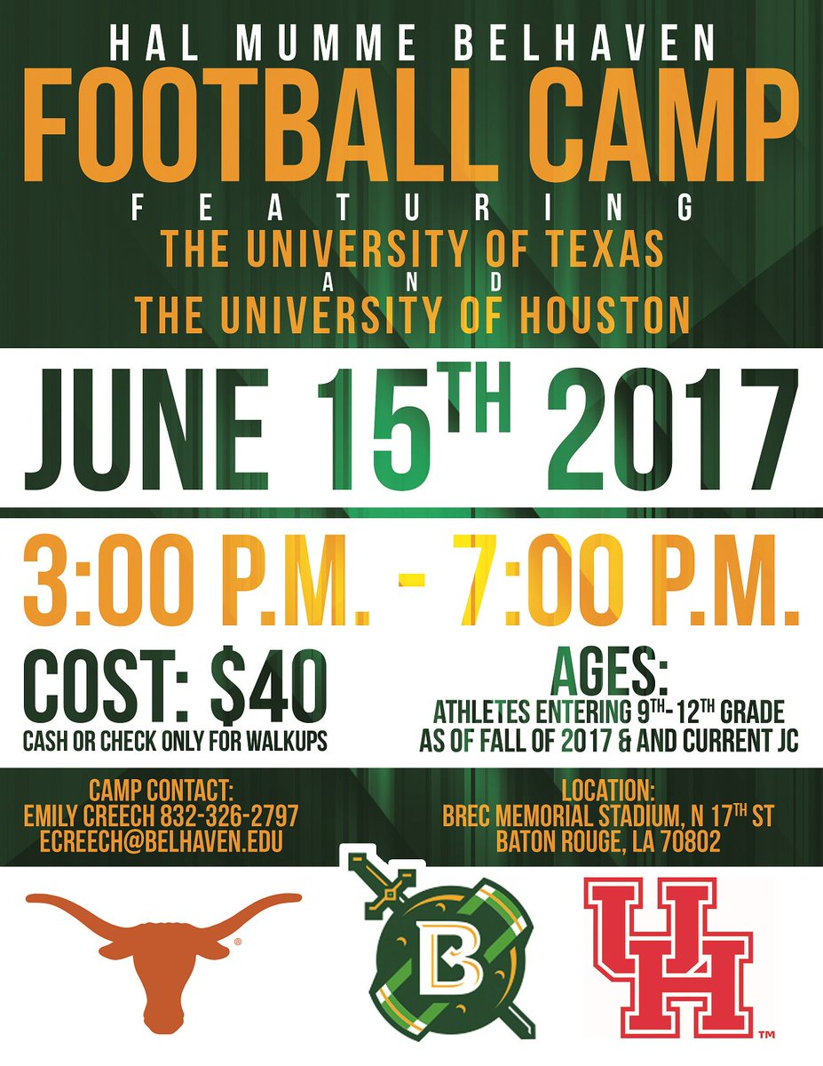 Youth And High School Football Camps Cougar Football Coogfans