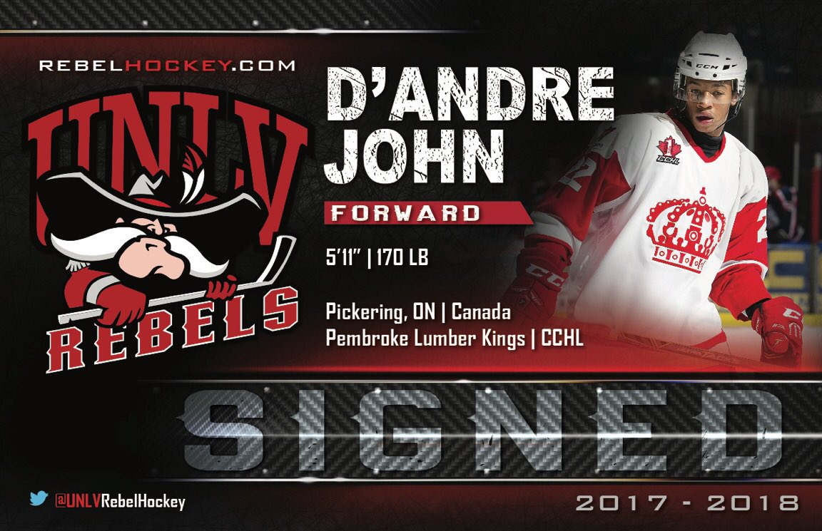 SIGNED: #SkatinRebels add forward D'Andre John (@Chi3f96) from @PLKing...