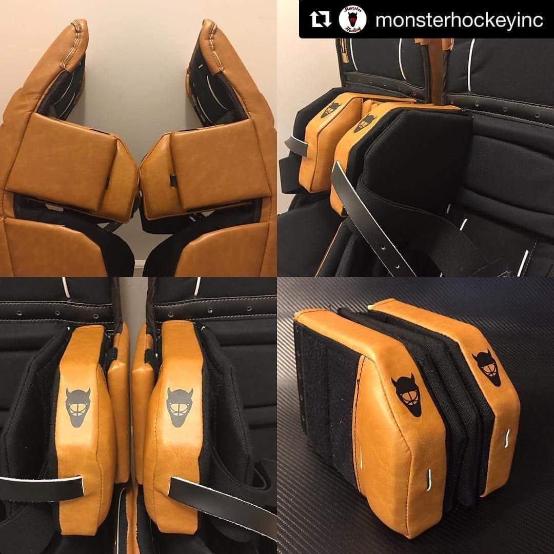 """Tendy Gear on Twitter: """"Looking to spruce up your old gear? Check out the  45° knee blocks from Monster Goalie. Discount code """"Tendy_gear5""""  https://t.co/WJpMxbt7Ip… https://t.co/eYJmMJqaNd"""""""