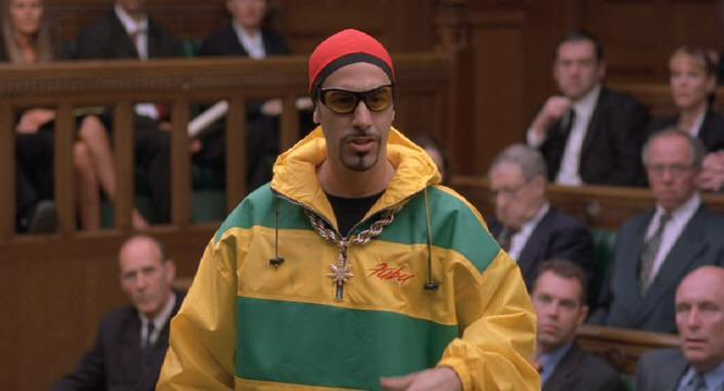 """DANYOUNGUK on Twitter: """"I voted for Ali G because I'm desperate to ..."""
