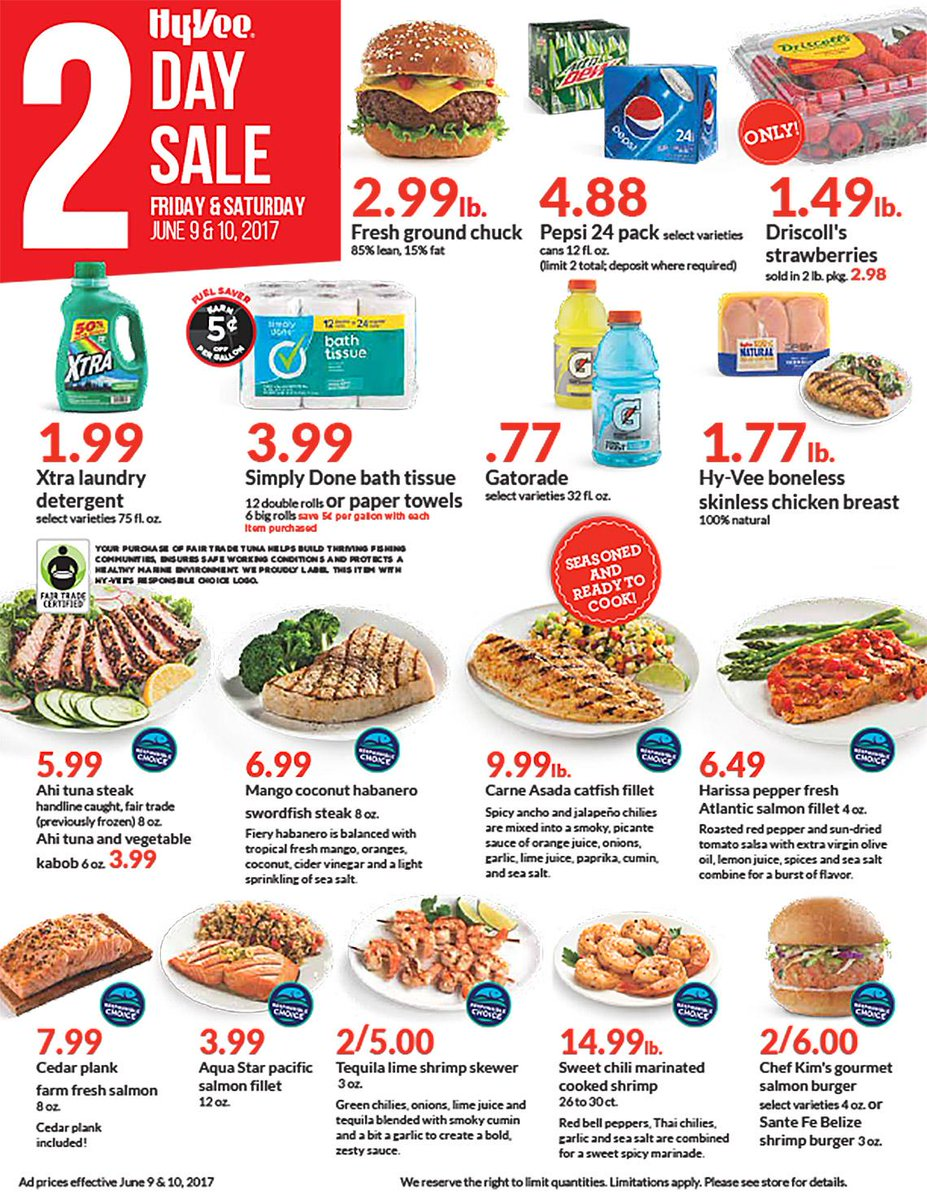 We have hot deals for you this weekend! Valid Friday & Saturday, J...