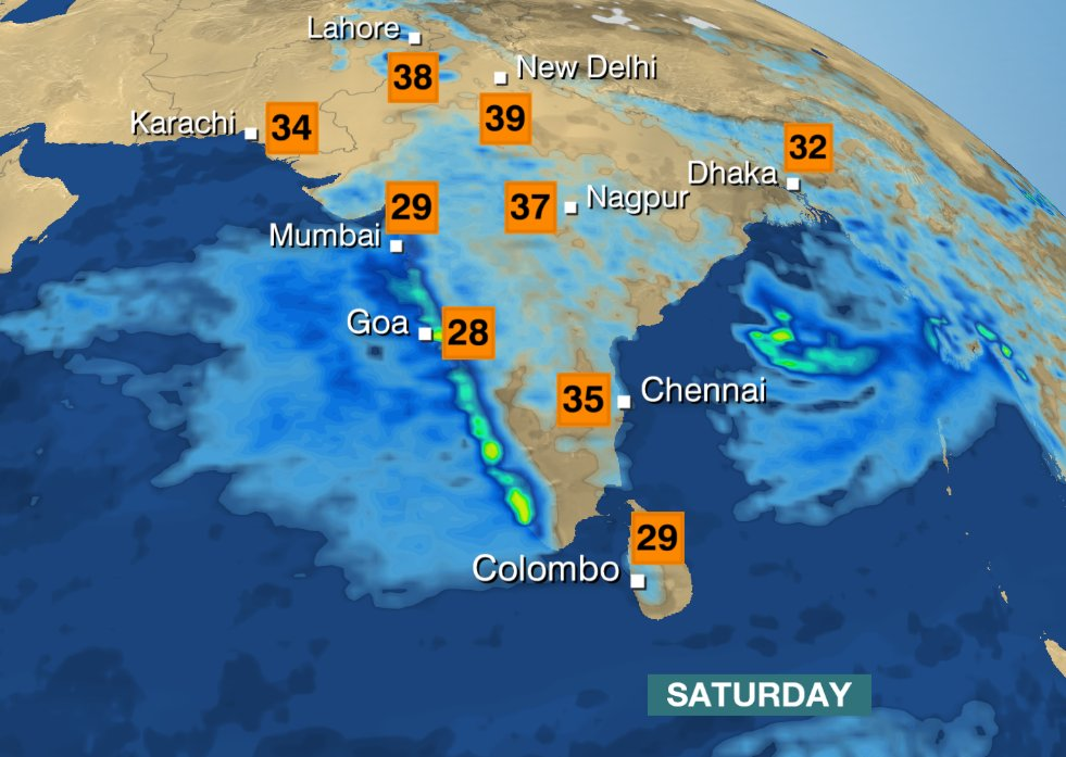 Bbc weather bay of bengal