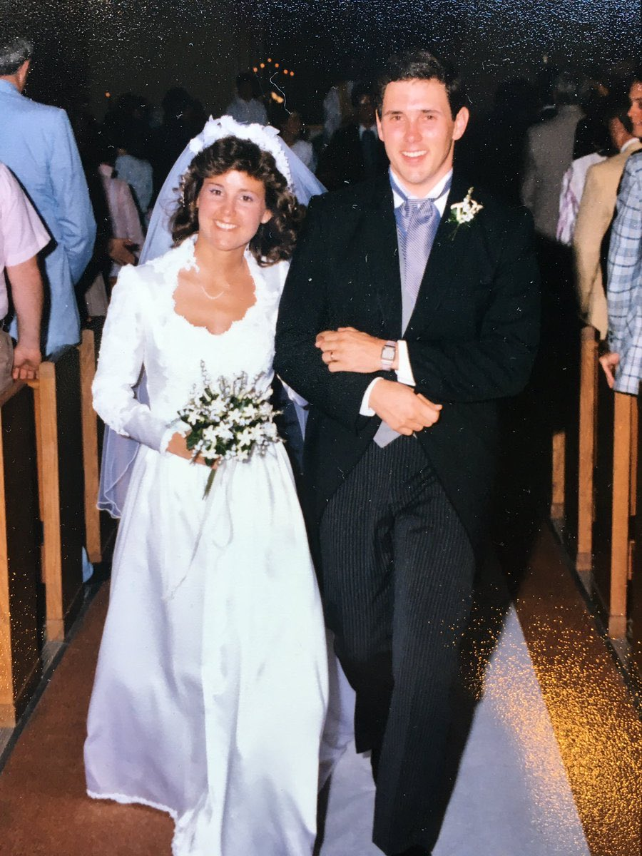 Celebrating our 32nd wedding anniversary today with my wonderful wife, Karen!