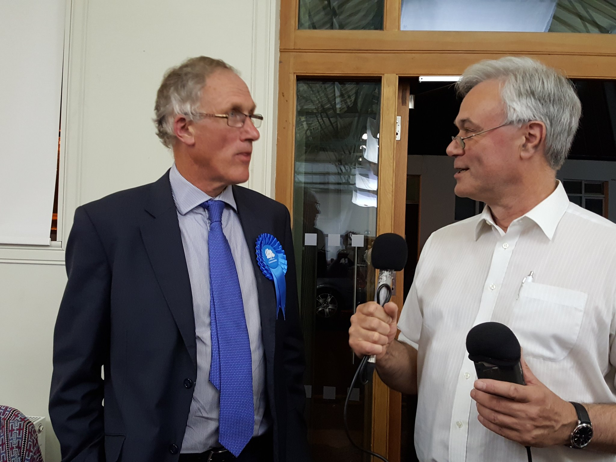"""In 30 yrs I've never made a prediction for an election,...high turnout good fr democracy"" @julian_brazier @CfJKent #KentGE2017 https://t.co/sr8pueARpo"