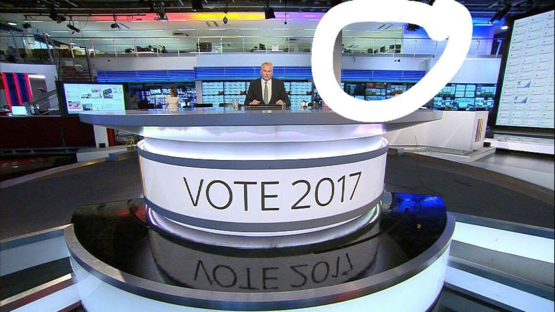 Watching @SkyNews' #GE2017 coverage? You can see our students in the top right corner helping to edit footage from across the country https://t.co/Bz8VM7X15w