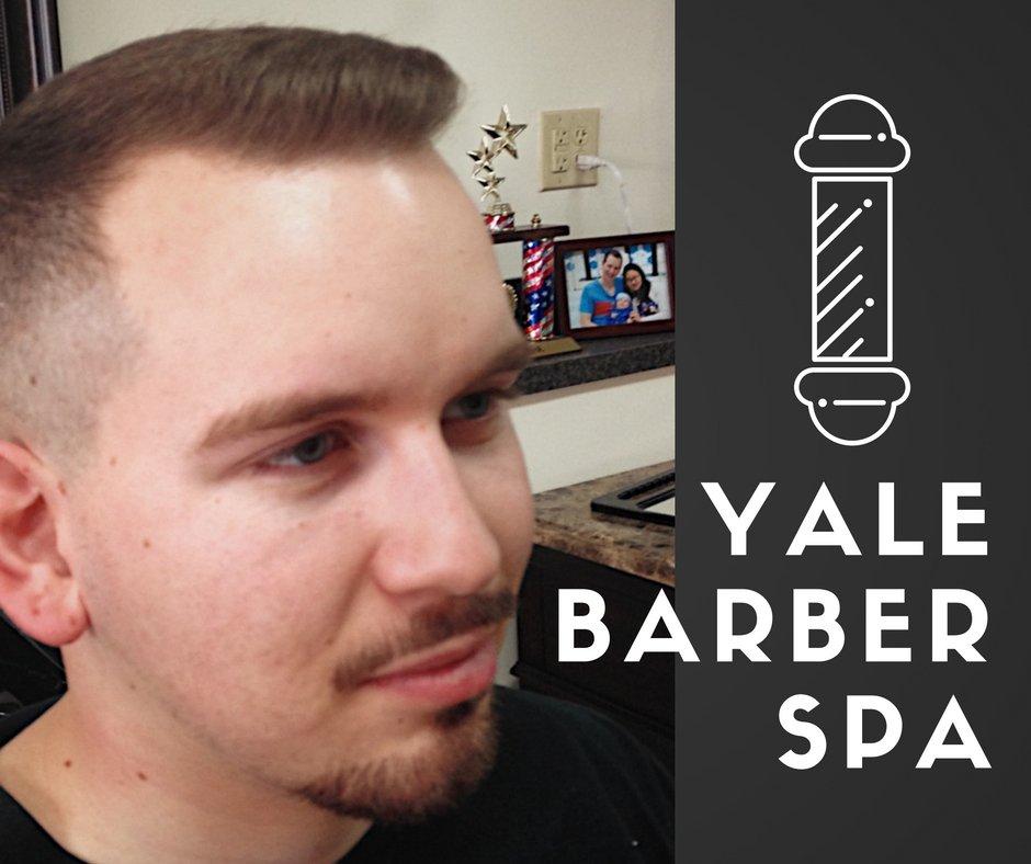 Yale Barber Spa On Twitter Yale Barber Spa Barber Shop Charleston