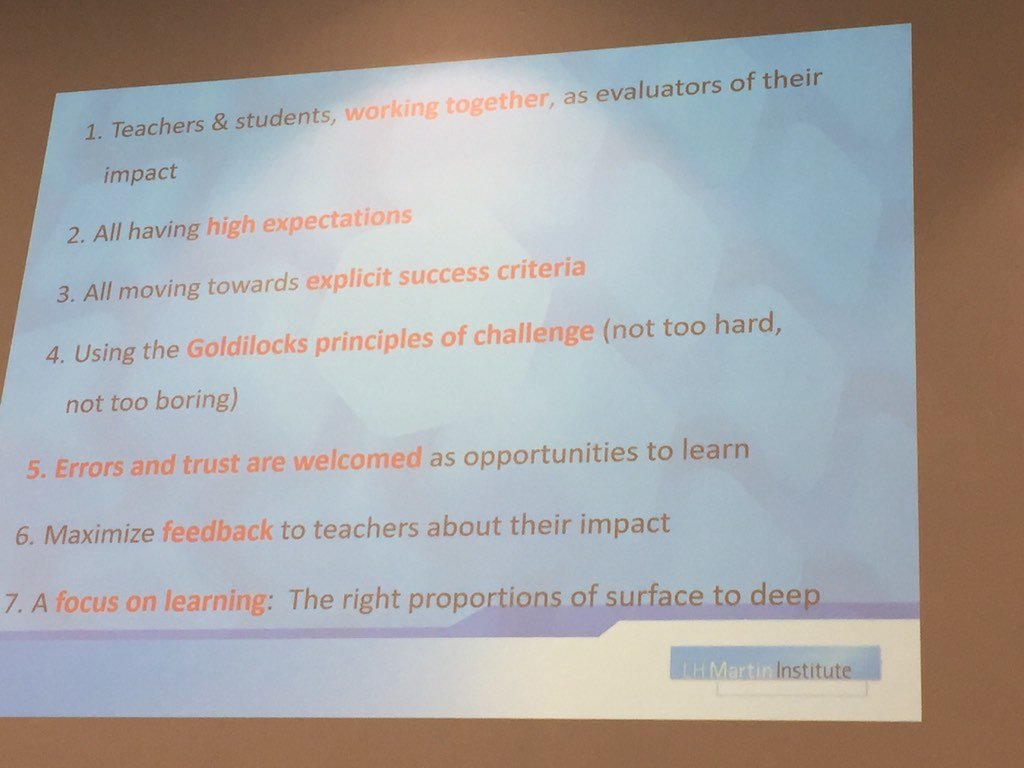 Achieving quality teaching #edutechau https://t.co/MiRn0F0bOi