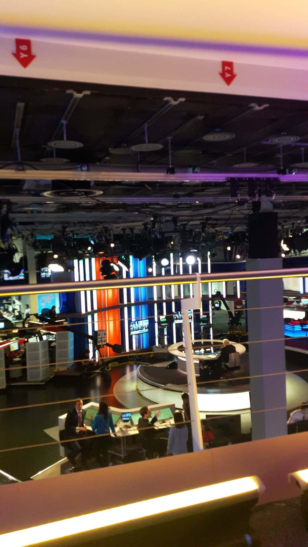 Look out for the @CfJKent team editing away @SkyNews tonight! (We're on the balcony on the top right of the studio) #GE2017 https://t.co/UdQOvyOw56