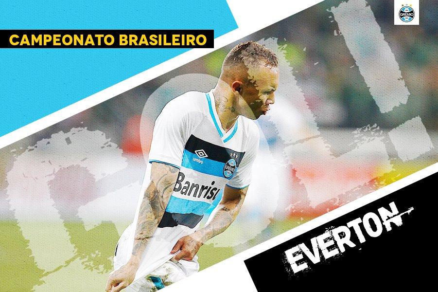 Na primeira vez que tocou na bola, marcou! Everton aumenta! Chapecoense 1x3 Grêmi #CHAxGRE #Brasileirão2017 #DiaDeGrêmio #VamosTricoloro