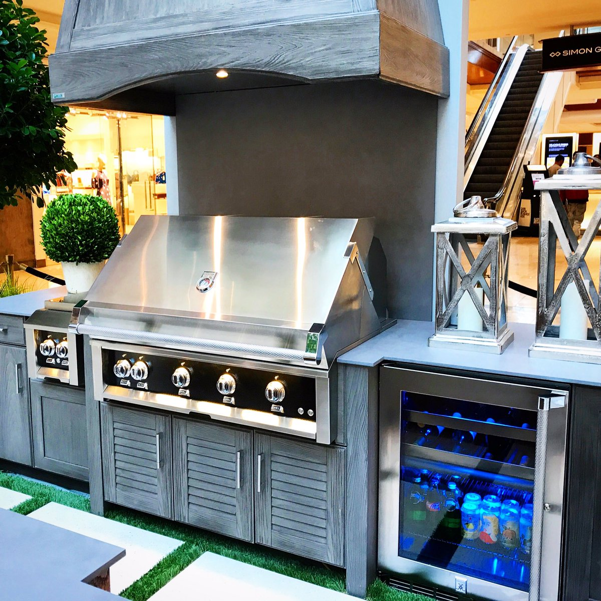 Hestan On Twitter Gorgeous Hestan Outdoor Kitchen Display At
