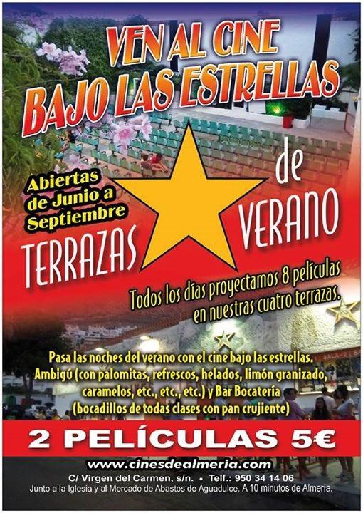 Amazing Podemos Confirmar Que La Apertura De Las #TerrazasdeVerano Será El Próximo  Sábado Día 17 De Junio. #Aguadulce #Almeria #CinedeVerano  #RTpic.twitter.com/ ...