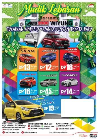 Promo Lebaran Toyota Jatim
