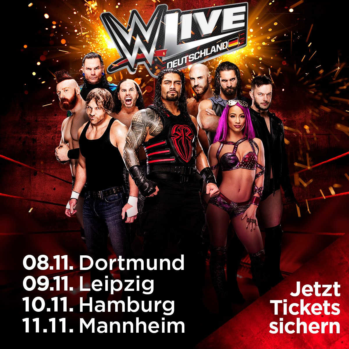 Wwe In Deutschland