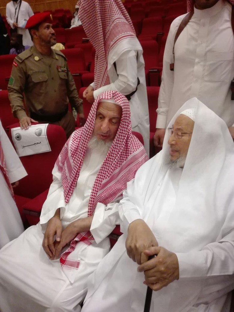 المفتي العام للمملكة السعودية يحت المسلمين للتحالف مع إسرائيل لمكافحة الإرهاب DB3G2Q6VYAEUa6T