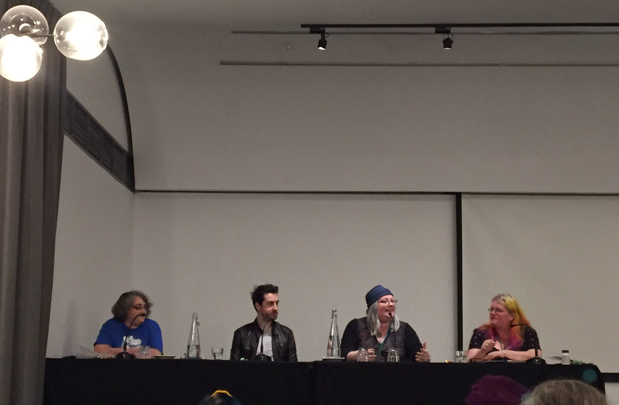 Continuum is underway! First panel of #con13 for me: 'To Be Continued...' with @GillianPolack @nathanmfarrugia @tansyrr and @seananmcguire https://t.co/LhNcqWXRF8