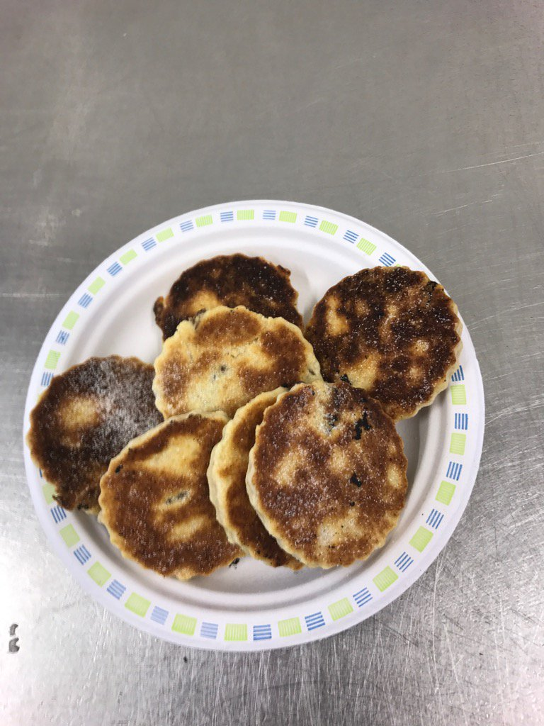 Customer appreciation , warm home made Welsh cakes mmm