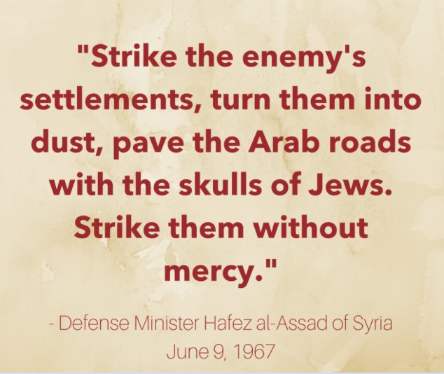 Six Day War Quotes on Twitter: