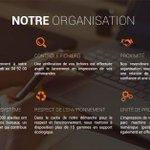 Image for the Tweet beginning: Notre page société fait peau