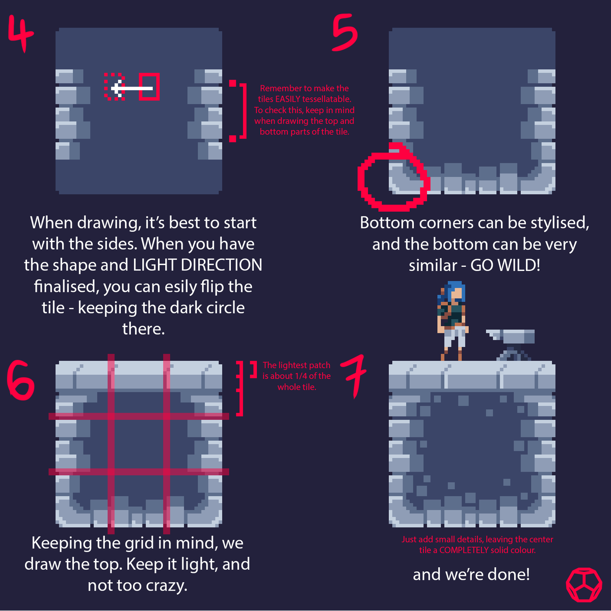 endesga on twitter pixelart tutorial a brief overview on a