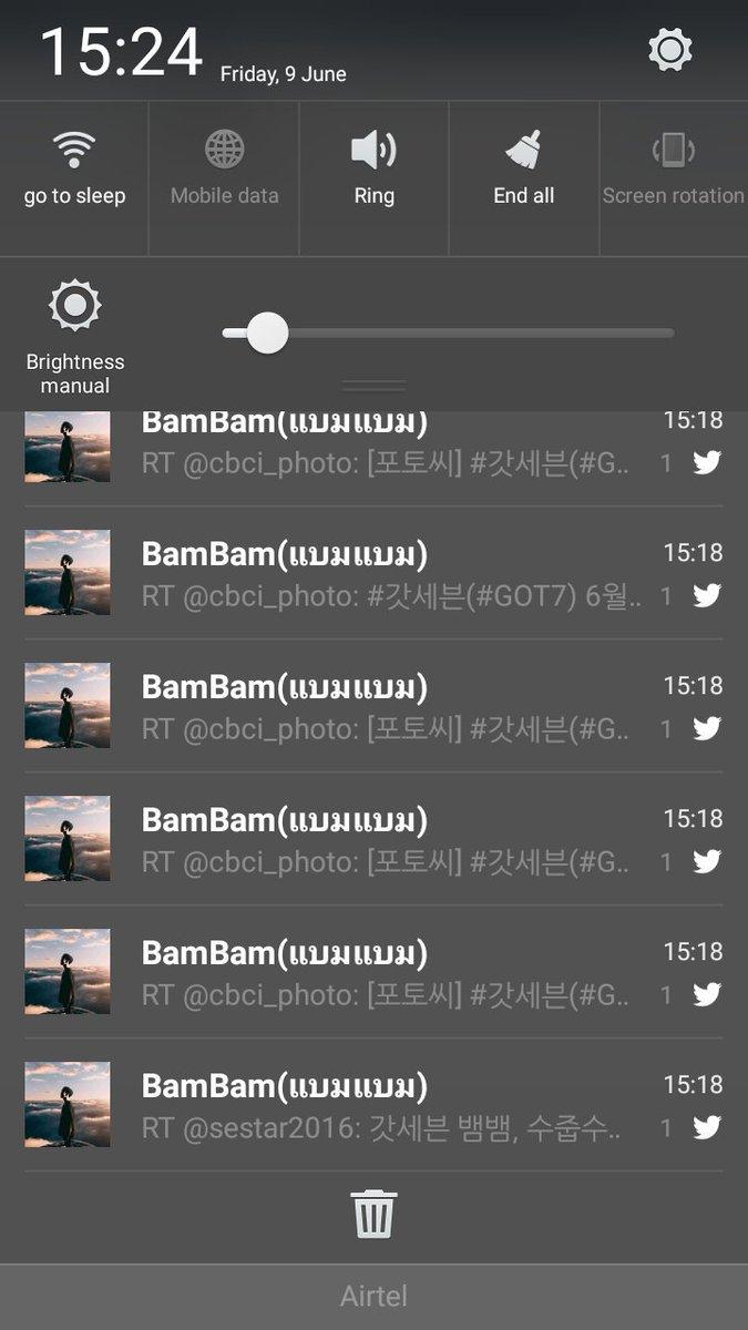 @BamBam1A  So this happened today... Have a good day, Bamma!!! #Bambam #KunpimookBhuwakul #Bamma #GOT7 #IGOT7 #Ahgase #TeamGOT7 <br>http://pic.twitter.com/LW3hTYc5Fg