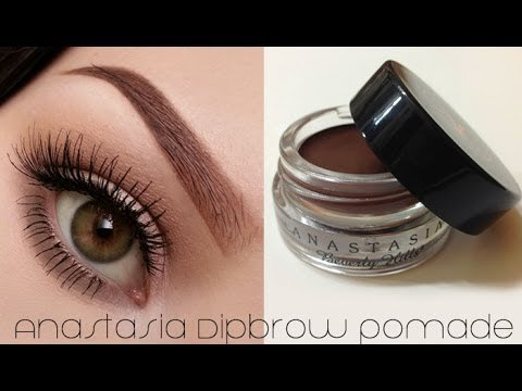 How To Use ABH Dipbrow Pomade (Eyebrow Tutorial)