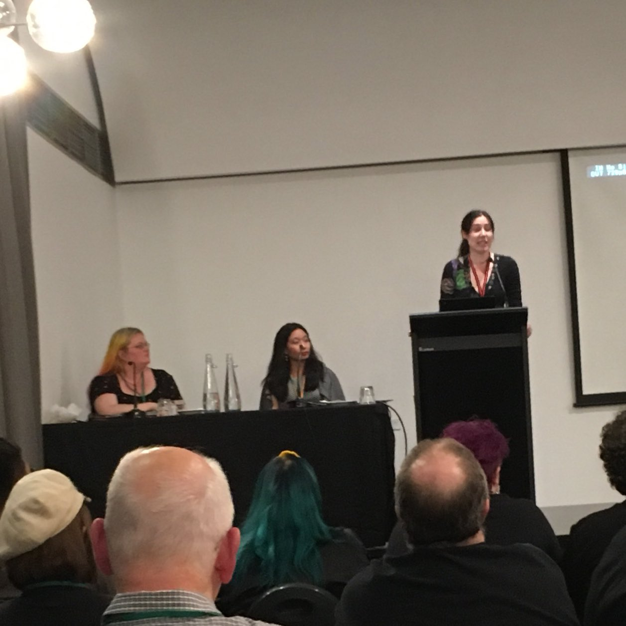 """""""I got hit in the head by an owl."""" @seananmcguire, on her introduction to Australian wildlife. #con13 https://t.co/FXDU2AlS7Q"""