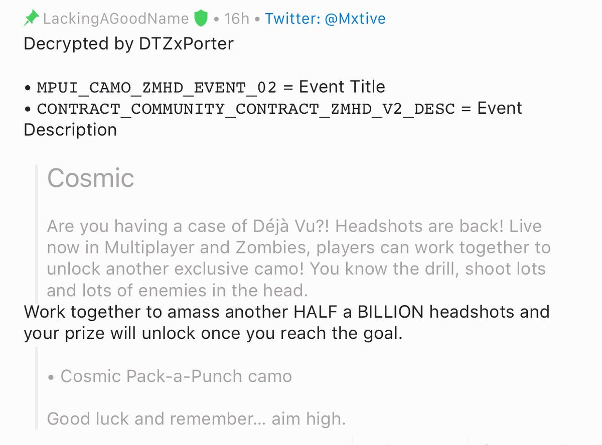 CharlieIntel   Call of Duty News on Twitter: