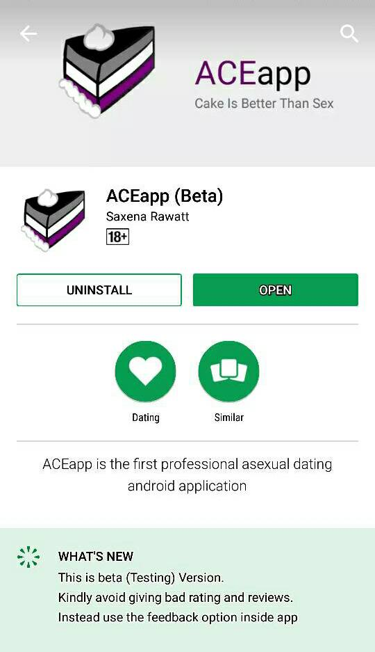 Asexual dating apps