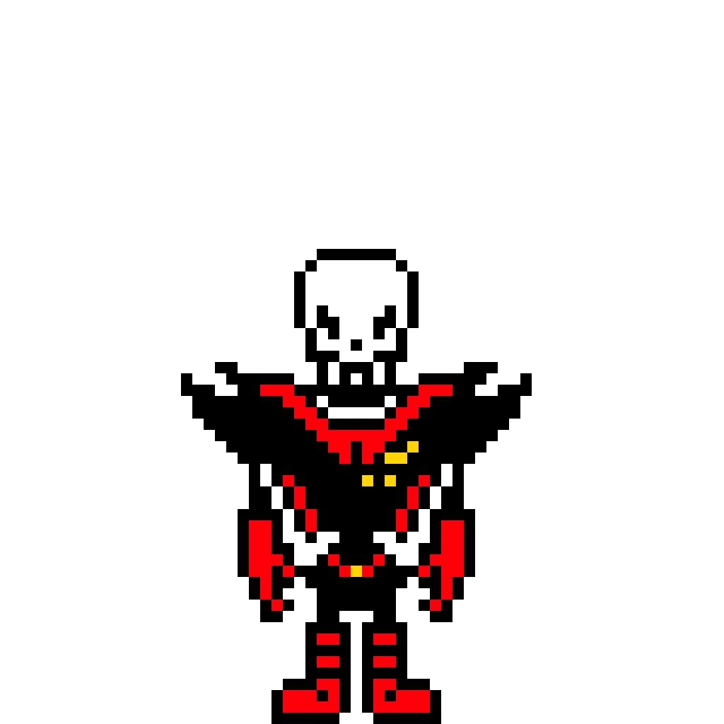 Papyrus Pixel Art