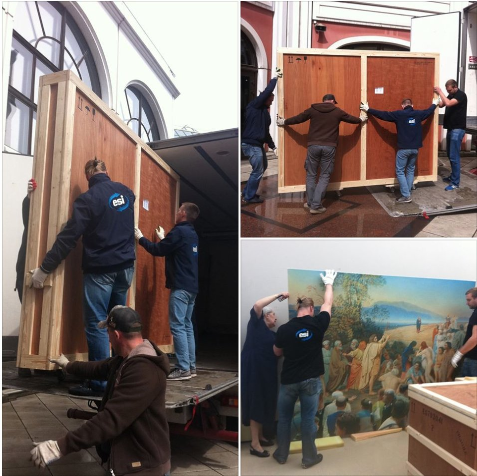 GROUP ESI special delivery @Tretyakovgal                         #tretyakovgallery #moscow #moscou #museum #musee #transportation #art #ESI<br>http://pic.twitter.com/MSjnEWkMH2